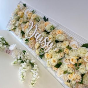 Ornate Flower Frame – 140cmx50cm