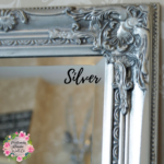 Slim Ornate Flower Frame – 140cmx50cm