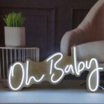 Light Up 'Neon' Sign – One Line
