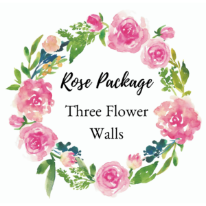 Three Flower Walls