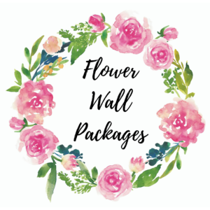 Flower Wall Packages