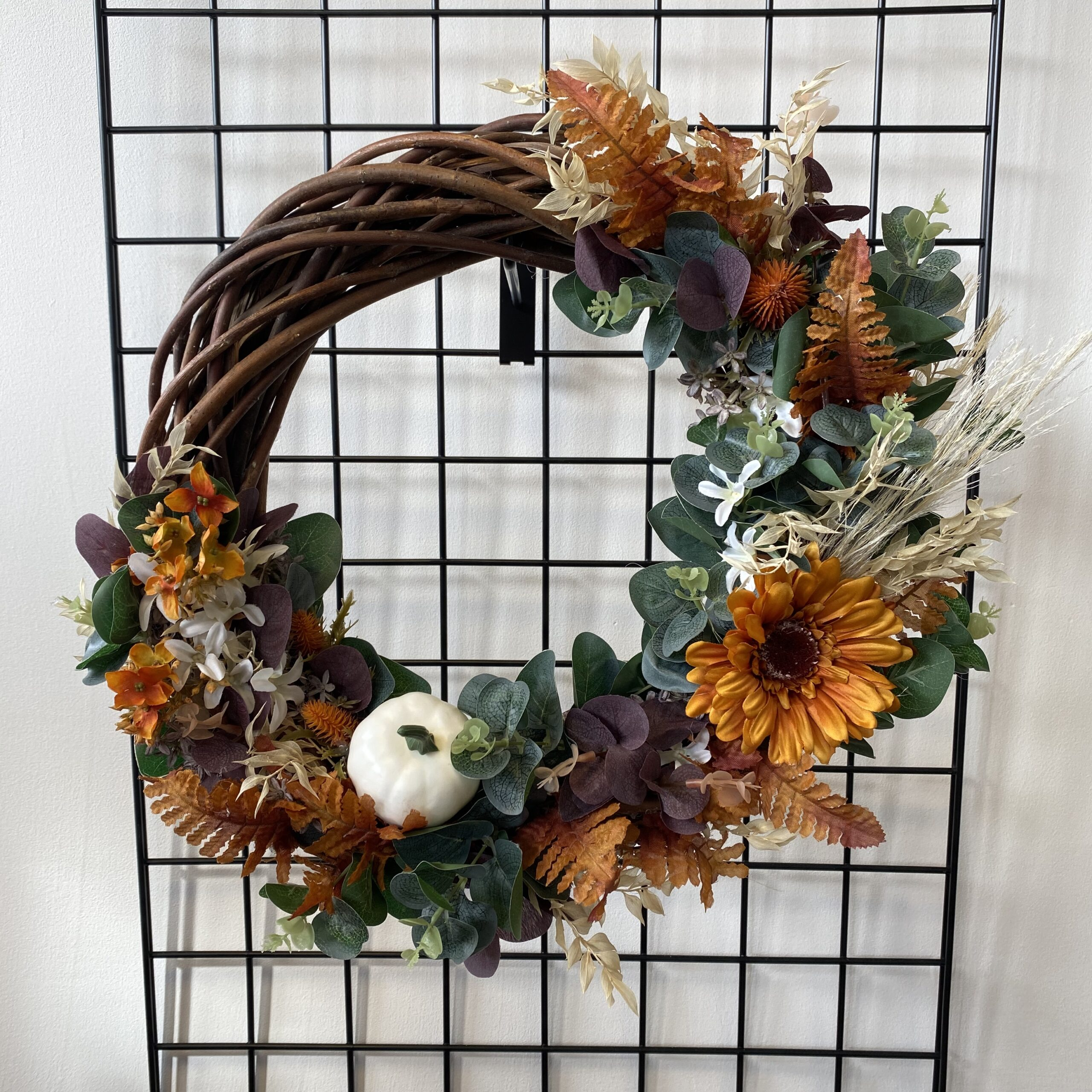 Autumn Rattan Wreath – 40cm