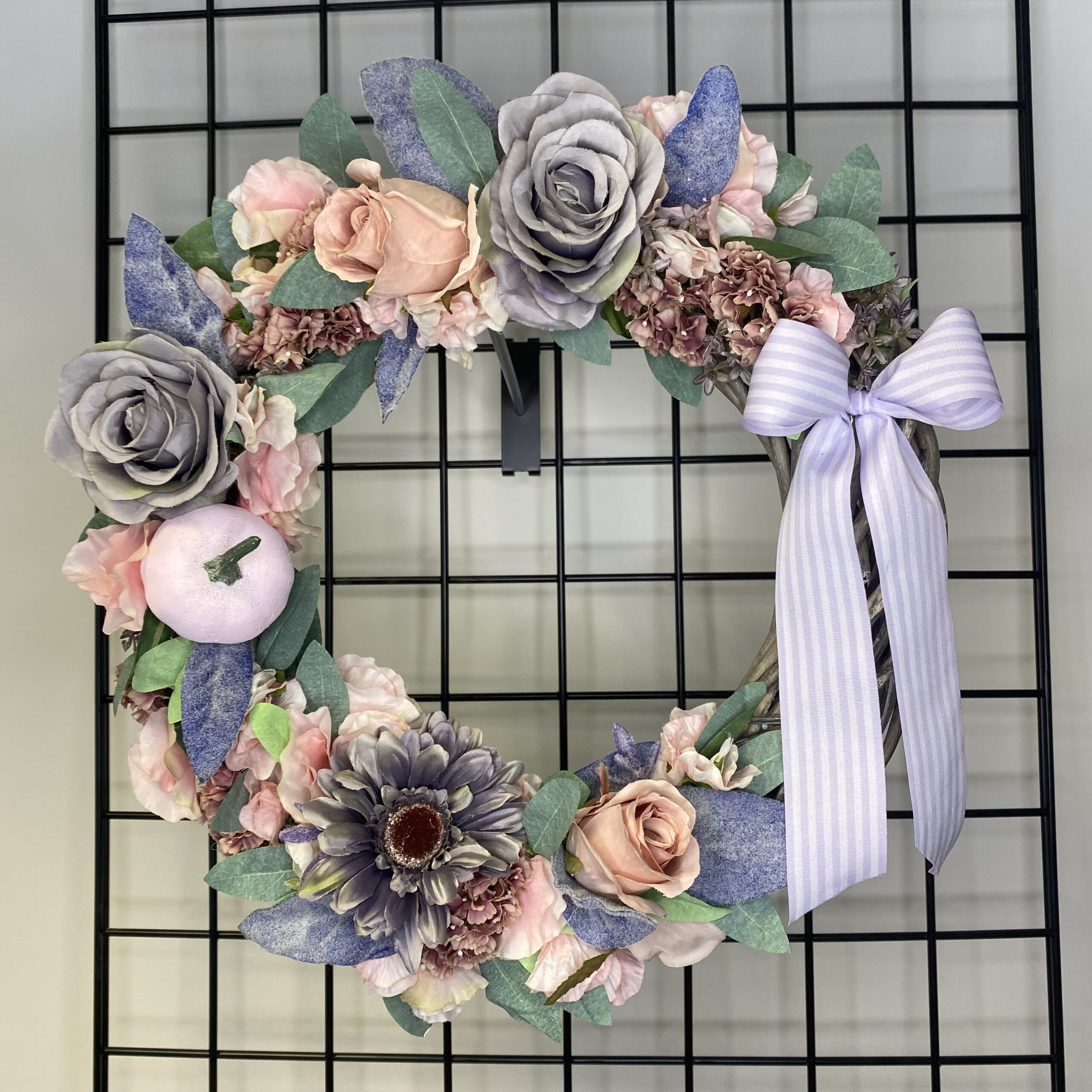 Autumn Pastel Wreath – Two Sizes